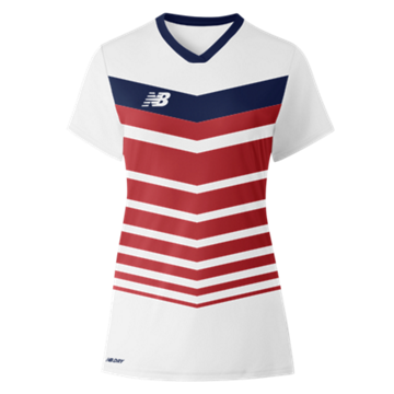 Women's Chevron Short Sleeve Jersey