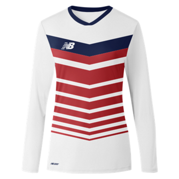 Women's Chevron Long Sleeve Jersey